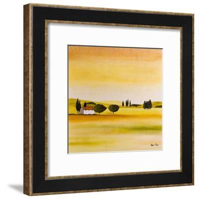 Summertime In France-Hans Paus-Framed Art Print