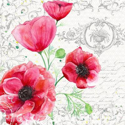 Summertime Poppies IV-Irina Trzaskos Studios-Giclee Print