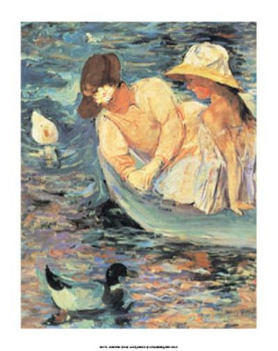 Summertime-Mary Cassatt-Art Print