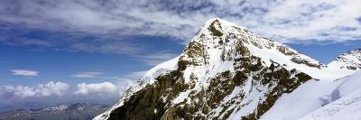 Summit of Monch Mountain in Bernese Alps-Design Pics Inc-Photographic Print