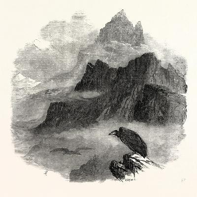 Summit of the Pic Du Midi D'Osseau Pyrenees 1854--Giclee Print