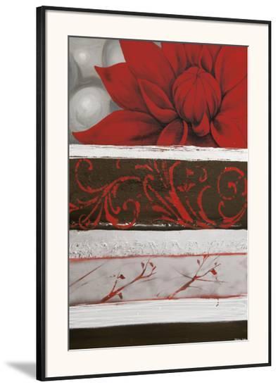 Sumptuous Red-Jasmin Zara Copley-Framed Giclee Print