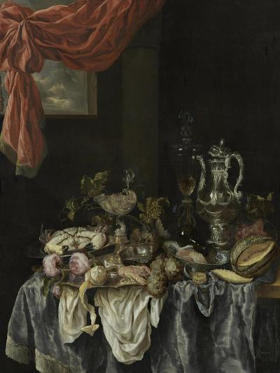 Sumptuous Still Life, 1654-Abraham Hendricksz van Beijeren-Giclee Print