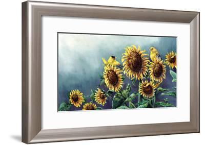 Sun and Gold-Wanda Mumm-Framed Giclee Print