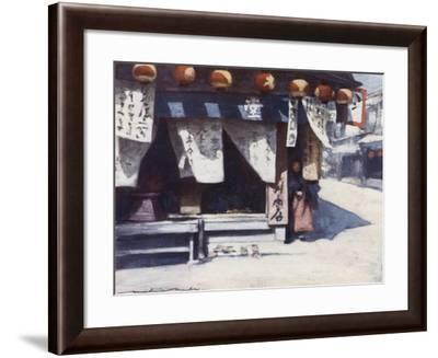 Sun and Lanterns-Mortimer Ludington Menpes-Framed Giclee Print