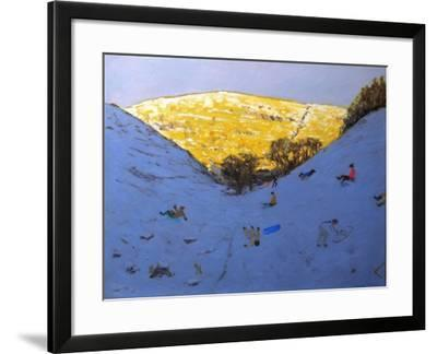 Sun and Snow, 2007-Andrew Macara-Framed Giclee Print
