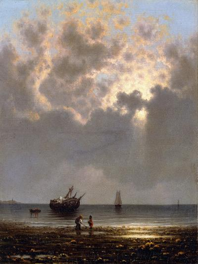 Sun Breaking Through the Clouds-Martin Johnson Heade-Giclee Print