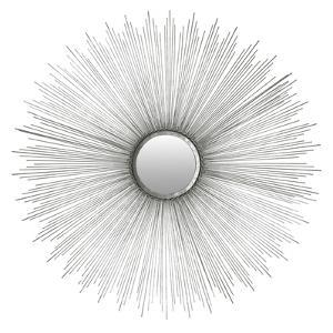 Sun Burst Mirror (Silver)