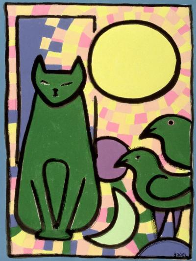 Sun Cat, 2000-Bodel Rikys-Giclee Print