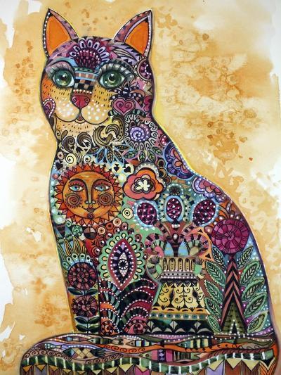 Sun Cat-Oxana Zaika-Giclee Print