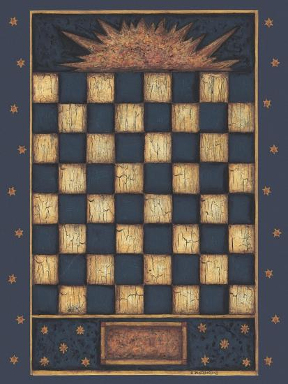 Sun Checkers-Robin Betterley-Giclee Print