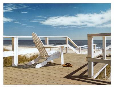 Sun Deck-Daniel Pollera-Art Print