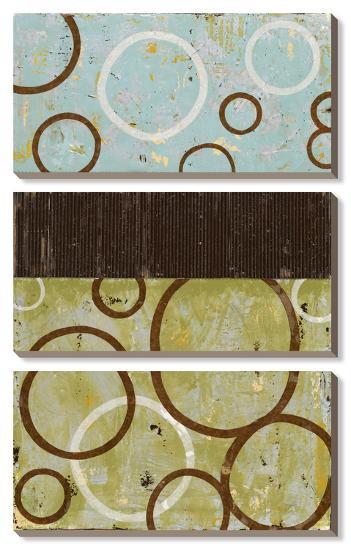 Sun Flower-Natalie Avondet-Canvas Art Set