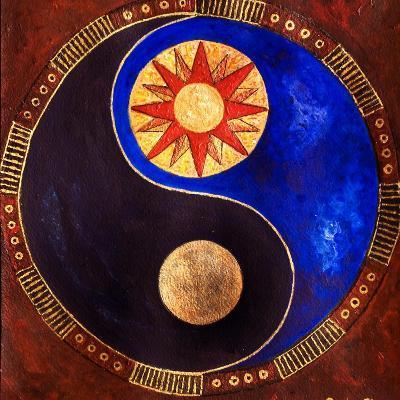 Sun-Moon, 2009-Sabira Manek-Giclee Print