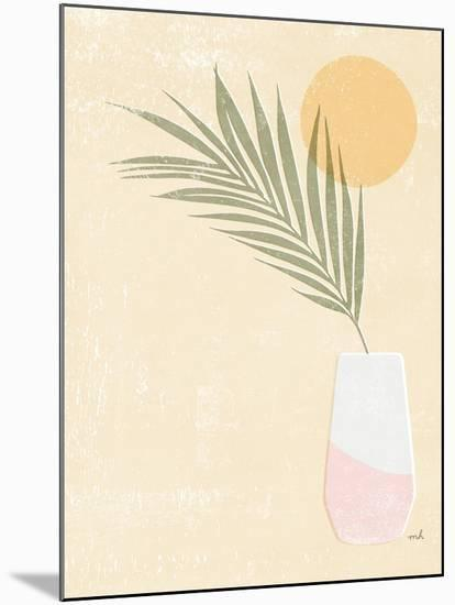 Sun Palm II Blush-Moira Hershey-Mounted Art Print