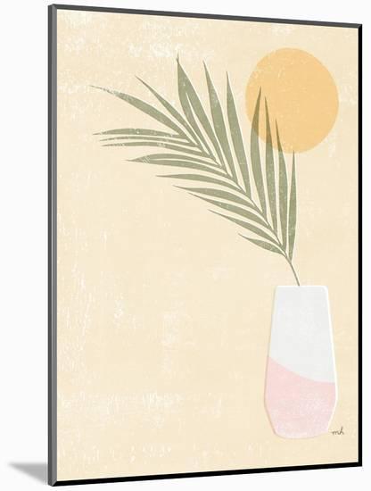 Sun Palm II Blush-Moira Hershey-Mounted Art Print
