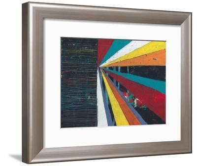 Sun Rays 1-Jan Weiss-Framed Art Print