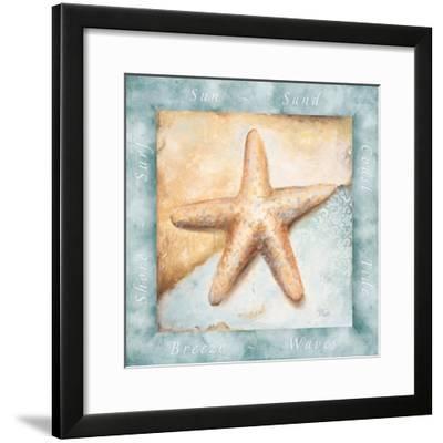 Sun, Sand and Surf II-Patricia Pinto-Framed Premium Giclee Print