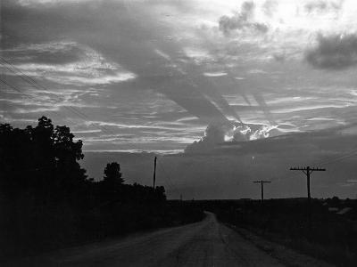 Sun Setting-Peter Stackpole-Photographic Print