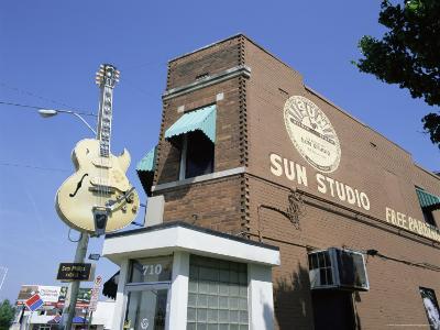 Sun Studios, Memphis, Tennessee, United States of America, North America-Gavin Hellier-Photographic Print