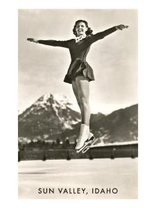 Sun Valley, Idaho, Skater in Air