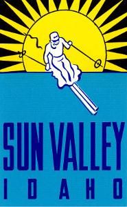 Sun Valley, Idaho, Skier Graphic