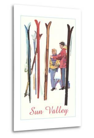 Sun Valley, Skis in Snow
