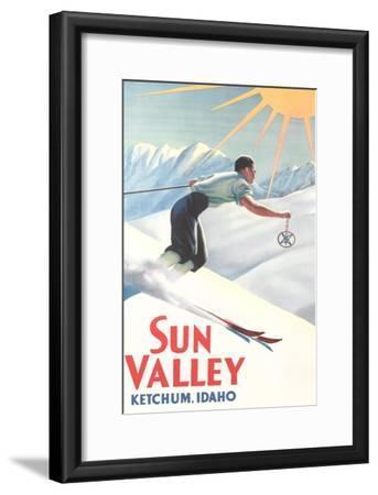 Sun Valley Travel Poster