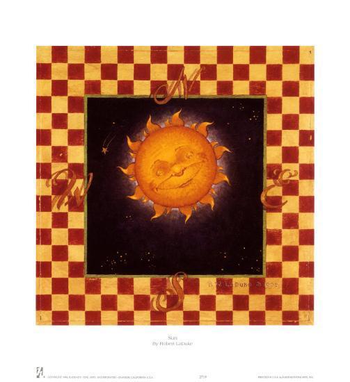 Sun-Robert LaDuke-Art Print