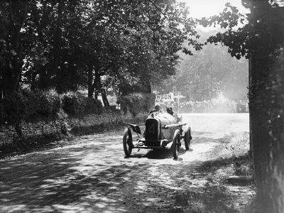 Sunbeam at the Isle of Man Tt Race, 1914--Photographic Print