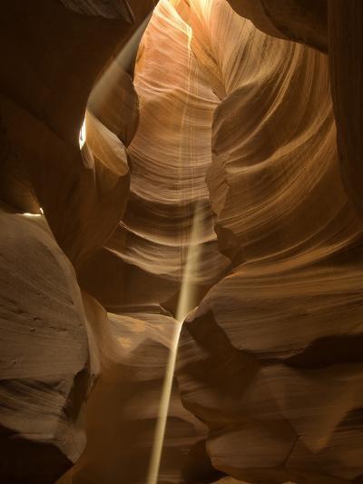 Sunbeam in Antelope Canyon-Kerrick James-Photographic Print