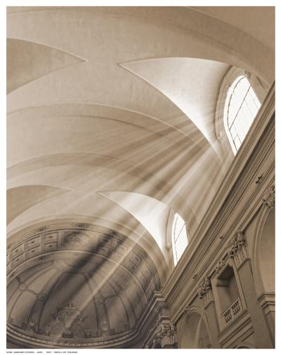 Sunbeamed Cathedral--Art Print
