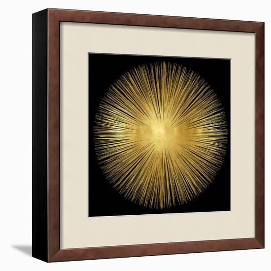 Sunburst on Black I-Abby Young-Framed Giclee Print