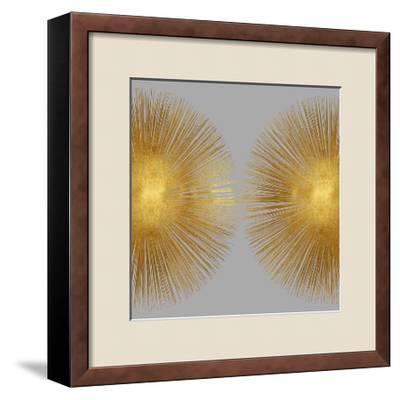 Sunburst on Grey II-Abby Young-Framed Giclee Print