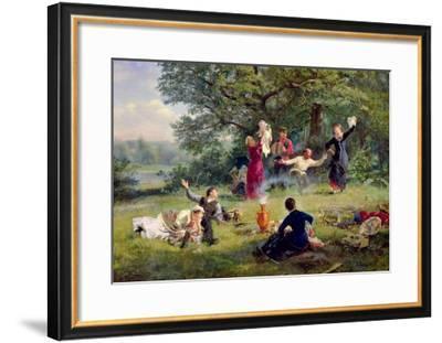 Sunday, 1884-Alexei Korsuchin-Framed Giclee Print