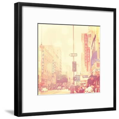 Sunday Afternoon in Los Angeles-Myan Soffia-Framed Art Print