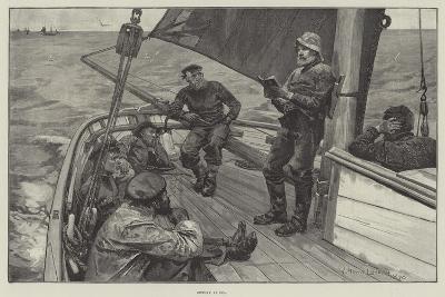 Sunday at Sea--Giclee Print