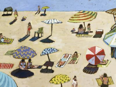Sunday At The Beach-David Dimond-Premium Giclee Print