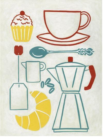 Sunday Brunch-Chariklia Zarris-Art Print