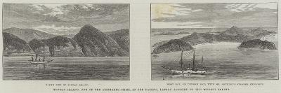 Sunday Island, One of the Kermadec Isles, in the Pacific, Lately Annexed to the British Empire--Giclee Print