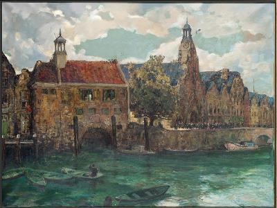 Sunday, Midday at Rotterdam-Alexander Jamieson-Giclee Print