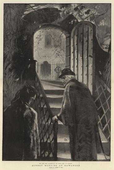 Sunday Morning at Hawarden-Sydney Prior Hall-Giclee Print