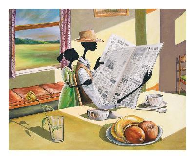 Sunday Morning-Elgina McCrary-Art Print