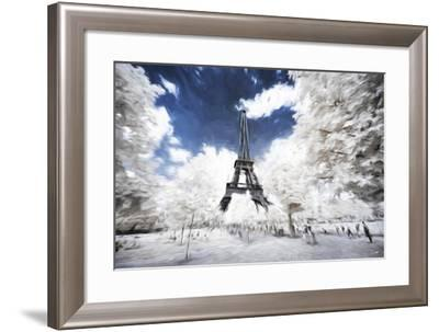 Sunday stroll in Paris - In the Style of Oil Painting-Philippe Hugonnard-Framed Giclee Print