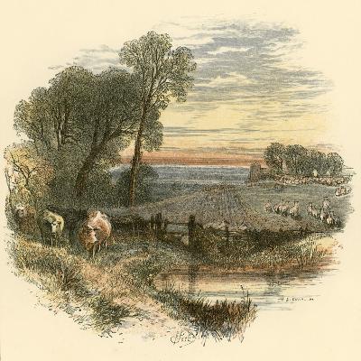 Sunday-Miles Birkett Foster-Giclee Print