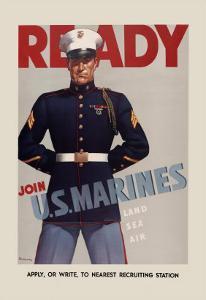 Join U.S. Marines by Sundblom