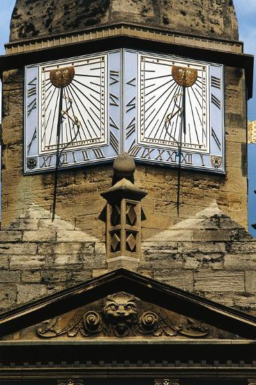 Sundials, Cambridge, England, United Kingdom--Giclee Print