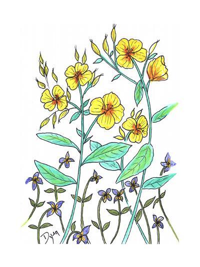 Sundrops-Beverly Dyer-Art Print