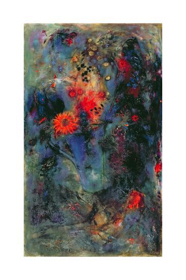Sunflower, 2002-Jane Deakin-Giclee Print