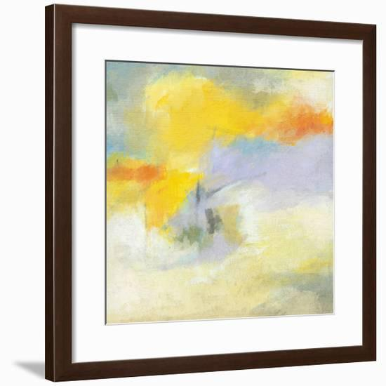 Sunflower Field I-Suzanne Nicoll-Framed Giclee Print